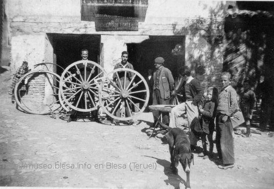 Fotografías antiguas de este oficio en Blesa