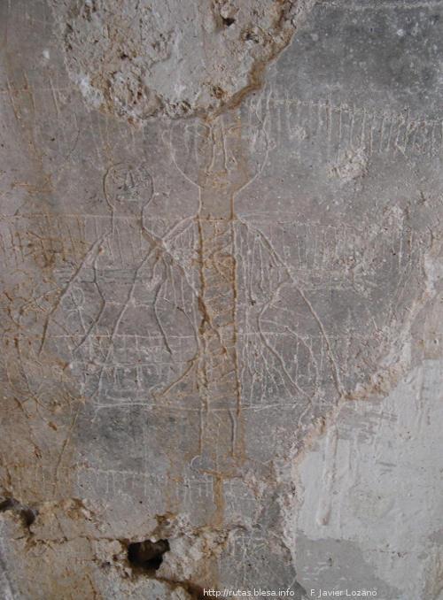 Grafitis en el molino del Vado